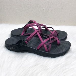 CHACO Zong Ecotread Double Strap Sandals Size 8